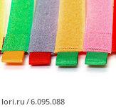 Разноцветные застежки-липучки велкро. Стоковое фото, фотограф Discovod / Фотобанк Лори