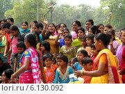 Индийские девушки (2009 год). Редакционное фото, фотограф Григорий Карамянц / Фотобанк Лори