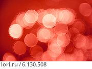 Красный абстрактный фон с эффектом боке. Стоковое фото, фотограф E. O. / Фотобанк Лори