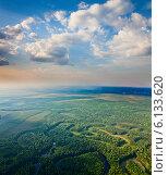 Купить «Сибирские просторы», фото № 6133620, снято 24 июля 2013 г. (c) Владимир Мельников / Фотобанк Лори