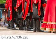 Маленькие казаки на Православном фестивале. Стоковое фото, фотограф Ясевич Светлана / Фотобанк Лори
