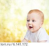 Купить «smiling little baby», фото № 6141172, снято 22 мая 2014 г. (c) Syda Productions / Фотобанк Лори