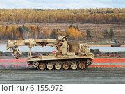 Купить «Инженерная машина разграждения», фото № 6155972, снято 26 сентября 2013 г. (c) Игорь Долгов / Фотобанк Лори