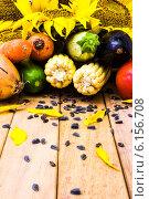 Куча овощей. Стоковое фото, фотограф Дмитрий Бодяев / Фотобанк Лори