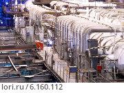 Купить «Электростанция. Котельное  отделение.», фото № 6160112, снято 8 июня 2013 г. (c) yeti / Фотобанк Лори