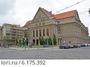 Купить «Карлов университет в Праге, Чехия», фото № 6175392, снято 28 мая 2014 г. (c) Ирина Борсученко / Фотобанк Лори