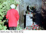 Berlin, the grave of Karl Liebknecht (1998 год). Редакционное фото, агентство Caro Photoagency / Фотобанк Лори