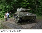 Купить «Spicheren, France, a U.S. M-24 Chaffee tanks to commemorate», фото № 6210084, снято 25 мая 2008 г. (c) Caro Photoagency / Фотобанк Лори