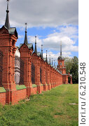 Волоколамск. Ограда Кремля (2014 год). Редакционное фото, фотограф АЛЕКСАНДР МИХЕИЧЕВ / Фотобанк Лори