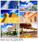 Купить «Египет. Коллаж на белом фоне», фото № 6224476, снято 23 июля 2019 г. (c) Vitas / Фотобанк Лори