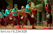 Купить «Танец крестьян, Камбоджа», видеоролик № 6234928, снято 29 марта 2014 г. (c) pzAxe / Фотобанк Лори