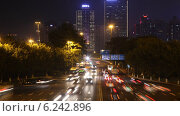 Купить «Гуанчжоу, Китай, машины едут на шоссе ночью, таймлапс», видеоролик № 6242896, снято 23 ноября 2011 г. (c) Losevsky Pavel / Фотобанк Лори