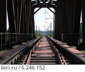 Железнодорожный мост. Стоковое фото, фотограф astrozebra / Фотобанк Лори