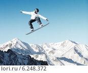 Купить «Snowboarding sport», фото № 6248372, снято 25 марта 2019 г. (c) Sergey Nivens / Фотобанк Лори