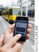 BVG HandyTicket (2011 год). Редакционное фото, агентство Caro Photoagency / Фотобанк Лори