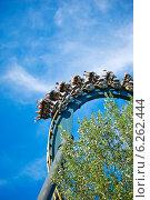 """Аттракцион """"Катун"""" в парке """"Мирабиландия"""" (2014 год). Редакционное фото, фотограф Инна Грязнова / Фотобанк Лори"""