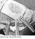 Купить «Плетение кружева на коклюшках», фото № 6270312, снято 20 августа 2011 г. (c) NataMint / Фотобанк Лори