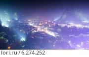Купить «Город в Китае днем и ночью, таймлапс», видеоролик № 6274252, снято 4 августа 2014 г. (c) Кирилл Трифонов / Фотобанк Лори