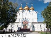Купить «Успенский собор в городе Ярославль, Россия», фото № 6279752, снято 11 августа 2014 г. (c) Сергей Пинаев / Фотобанк Лори
