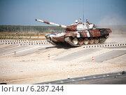 Танковый биатлон 2014. Редакционное фото, фотограф Андрей Павлов / Фотобанк Лори