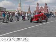 Купить «ГАЗ -ГЛ-1 1940г, первый спортивный советский автомобиль», фото № 6287816, снято 26 июля 2014 г. (c) Алексей Голованов / Фотобанк Лори