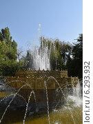 Купить «Декоративная деталь городского фонтана», фото № 6293932, снято 14 августа 2014 г. (c) Рамиль Усманов / Фотобанк Лори