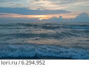 Купить «Красивый закат на  Балтийском море», эксклюзивное фото № 6294952, снято 15 августа 2014 г. (c) Svet / Фотобанк Лори
