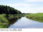 Река Нерль. Стоковое фото, фотограф Илья Хаскин / Фотобанк Лори