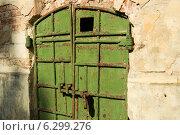 Старые металлические ворота. Стоковое фото, фотограф Ярослав Грицан / Фотобанк Лори