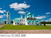 Купить «Александро-Свирский монастырь», фото № 6303368, снято 15 июня 2014 г. (c) Юлия Бабкина / Фотобанк Лори