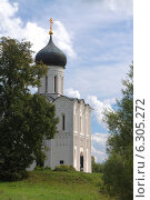 Купить «Храм Покрова на Нерли», фото № 6305272, снято 17 августа 2014 г. (c) Николай Богоявленский / Фотобанк Лори
