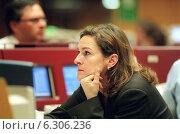 Купить «Floor trading on the Frankfurt Stock Exchange», фото № 6306236, снято 7 мая 2002 г. (c) Caro Photoagency / Фотобанк Лори