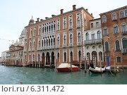 Купить «Венеция. Дворец на Гранд Канале», фото № 6311472, снято 15 февраля 2013 г. (c) Елена Велесова / Фотобанк Лори