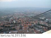 Купить «Республика Сан-Марино вид с башни Гуаита», фото № 6311516, снято 16 февраля 2013 г. (c) Елена Велесова / Фотобанк Лори