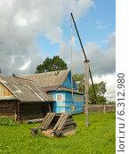 Деревенский колодец. Стоковое фото, фотограф Шевцова Анна / Фотобанк Лори