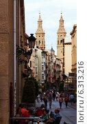 Купить «Portales street in Logrono. La Rioja», фото № 6313216, снято 27 июня 2014 г. (c) Яков Филимонов / Фотобанк Лори