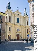 Купить «St. Francis Seraph Church designed by Jan Ceroni and Jakub Fontana.», фото № 6314656, снято 26 марта 2019 г. (c) BE&W Photo / Фотобанк Лори