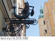 Varsaviana Book House and facade of St. Martin`s Church in Warsaw. Редакционное фото, агентство BE&W Photo / Фотобанк Лори