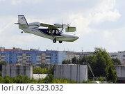 Купить «Легкомоторный самолёт Orion SK-12 в полёте», фото № 6323032, снято 29 мая 2020 г. (c) Землянникова Вероника / Фотобанк Лори