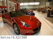 Купить «Poznan, Poland, the Ferrari California 30 at the Motor Show 2013», фото № 6323588, снято 7 апреля 2013 г. (c) Caro Photoagency / Фотобанк Лори