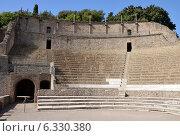 Большой театр в Помпеях, Италия (2013 год). Стоковое фото, фотограф Bohumil Prazsky / Фотобанк Лори