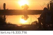 Рыбалка. Стоковое фото, фотограф Александр Пшеничный / Фотобанк Лори