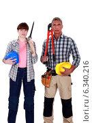 Купить «Demolition crew», фото № 6340216, снято 27 мая 2011 г. (c) Phovoir Images / Фотобанк Лори