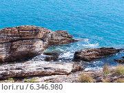 Скалы и вода о.Самет (2014 год). Стоковое фото, фотограф Павлова Дарья / Фотобанк Лори
