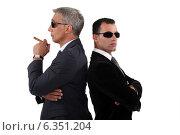 Купить «Cocky men in smart suit», фото № 6351204, снято 2 мая 2011 г. (c) Phovoir Images / Фотобанк Лори
