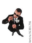 Купить «Wealthy businessman», фото № 6351716, снято 2 мая 2011 г. (c) Phovoir Images / Фотобанк Лори
