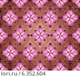 Абстрактный цветочный фон. Стоковая иллюстрация, иллюстратор Лариса К / Фотобанк Лори