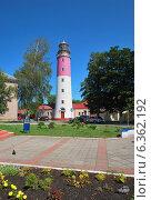 Купить «Маяк в городе Балтийске Калининградской области», фото № 6362192, снято 10 августа 2014 г. (c) Инесса Гаварс / Фотобанк Лори