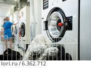 Купить «Прачечная или химчистка», фото № 6362712, снято 24 июля 2014 г. (c) Гурьянов Андрей / Фотобанк Лори
