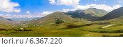 Купить «Панорама Памбского перевала в Кавказских горах. Армения», фото № 6367220, снято 16 декабря 2018 г. (c) Евгений Ткачёв / Фотобанк Лори